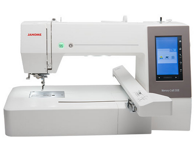 Janome memory craft MC 550 E scherm.png